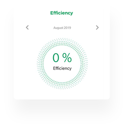 Efficiency Screen