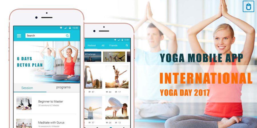 yoga mobile app