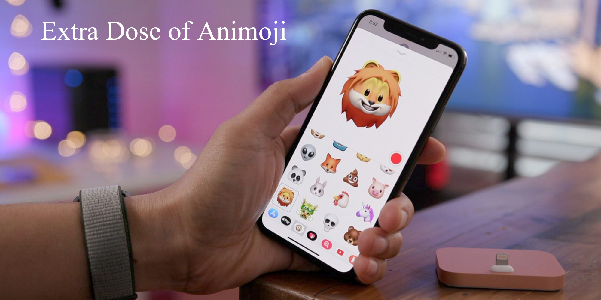 Extra Dose of Animoji