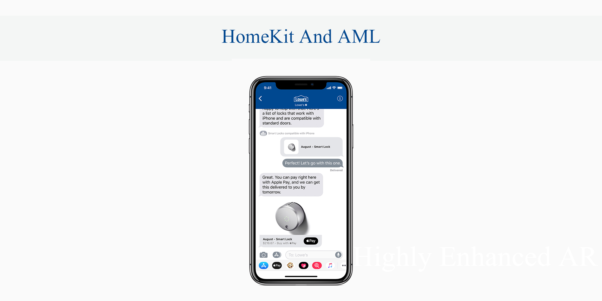 HomeKit And AML