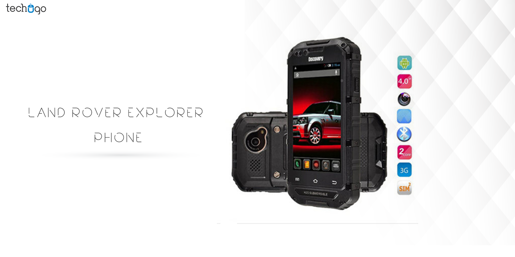 Land Rover Explorer phone
