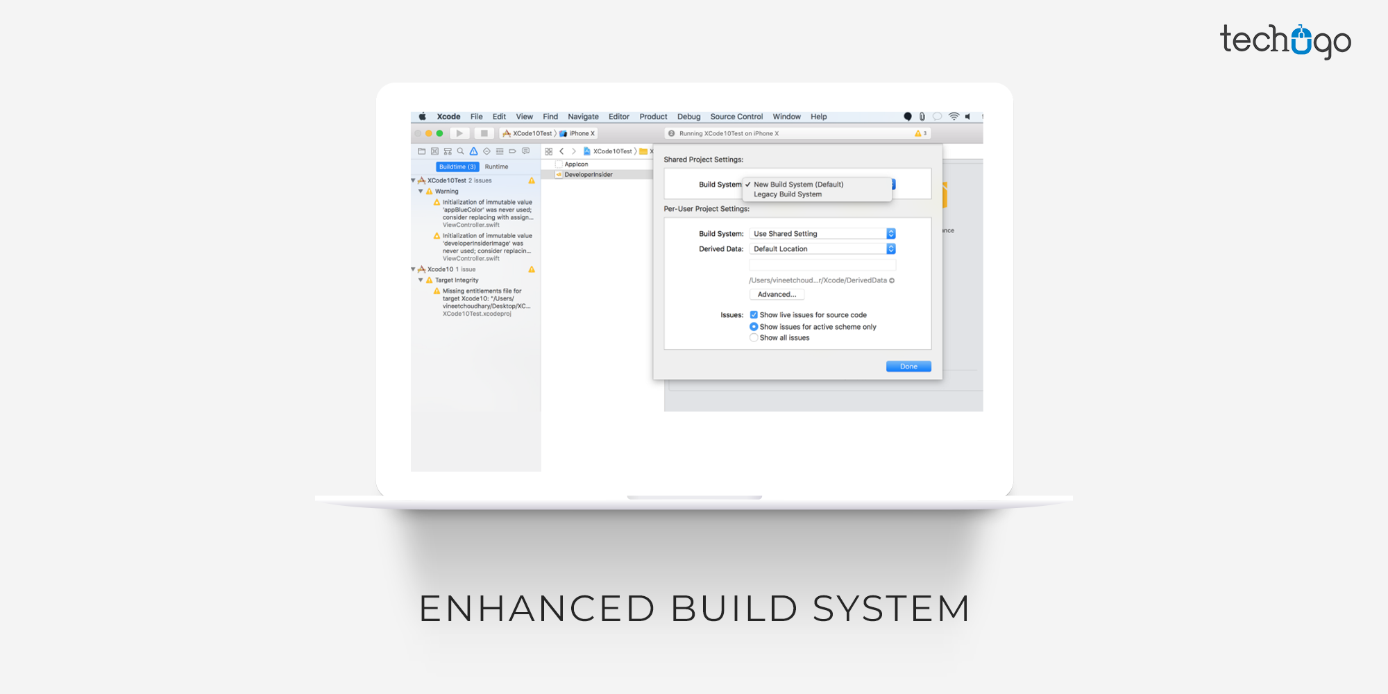 Enhanced Build System