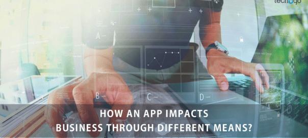 App Impacts Business