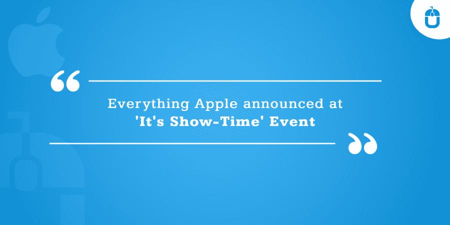 Apple Announced