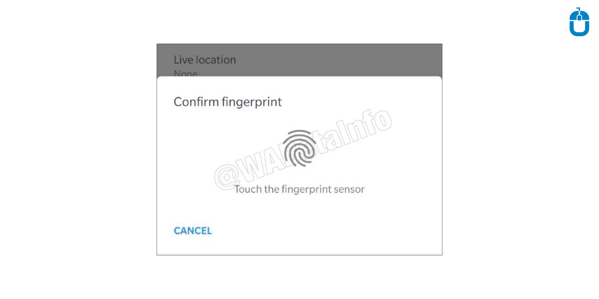 Confirm Fingerprint