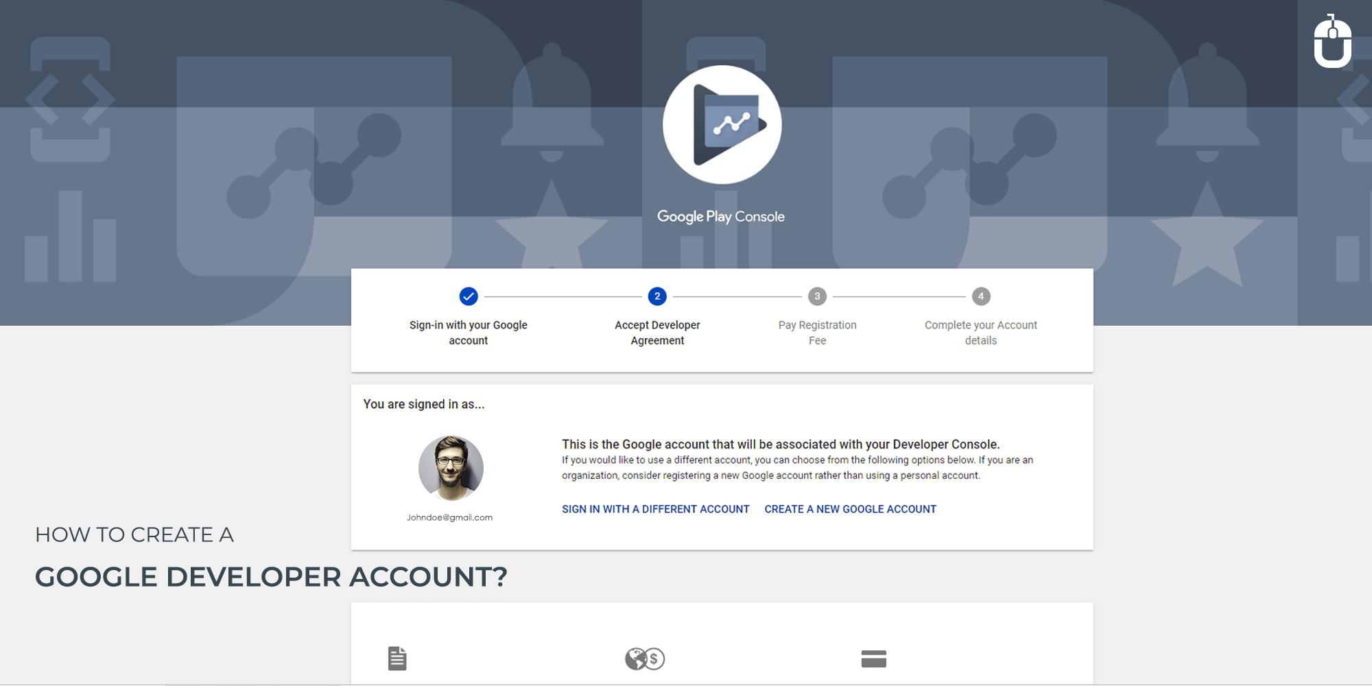 How To Create A Google Developer Account   Techugo