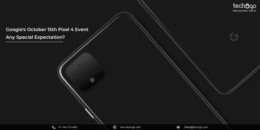 Pixel 4 Event