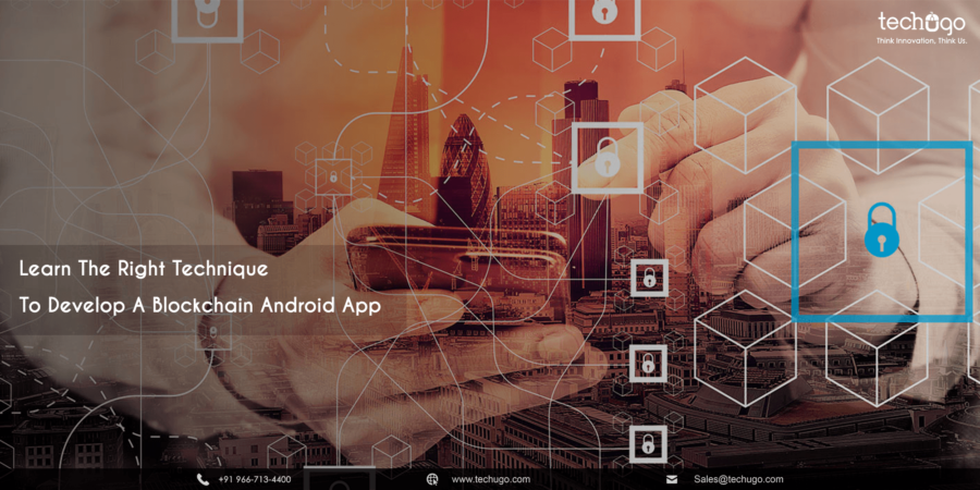 blockchain android app