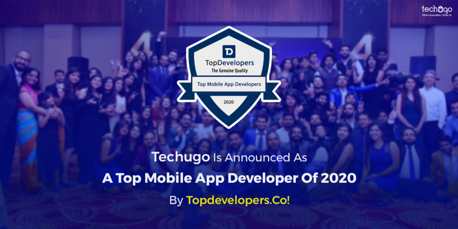 Techugo Is Announced As A Top Mobile App Developer Of 2020 By TopdevelopersCo