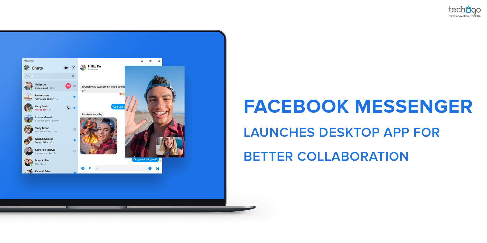 Access smooth collaboration with Facebook messenger desktop app