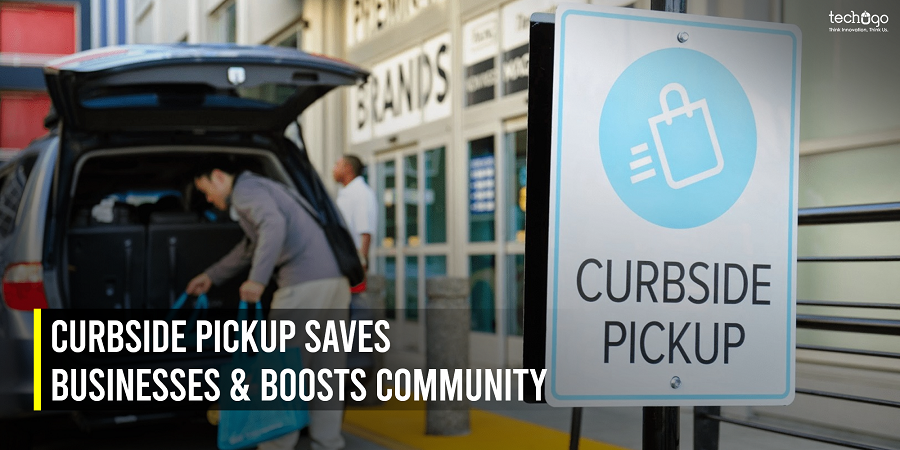 Curbside Pickup Saves Businesses & Boosts Community