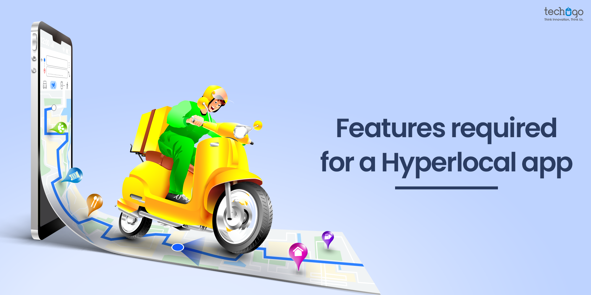 Features required for a Hyperlocal app