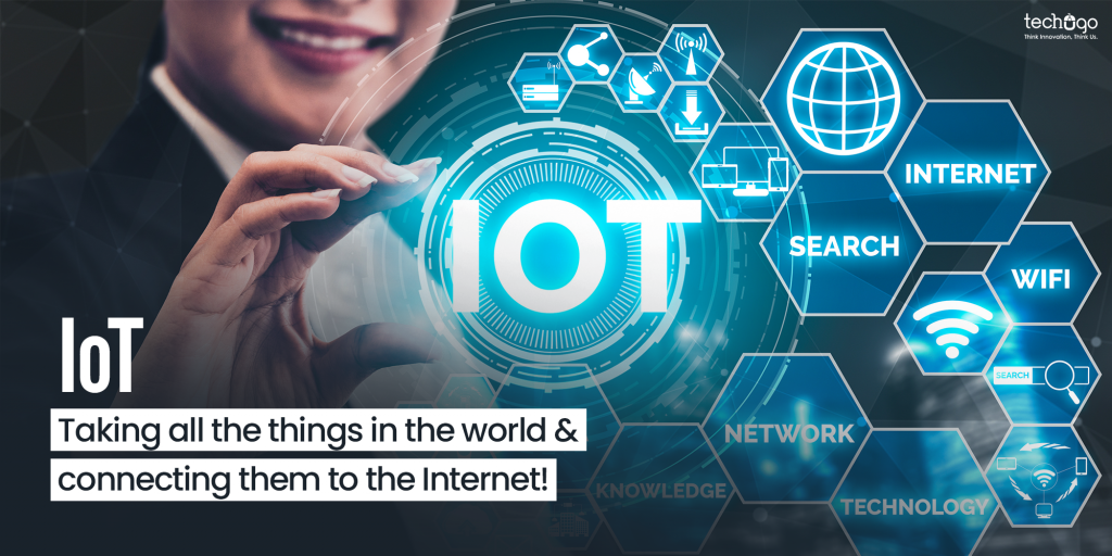 IoT Taking all the things in the world & connecting them to the Internet