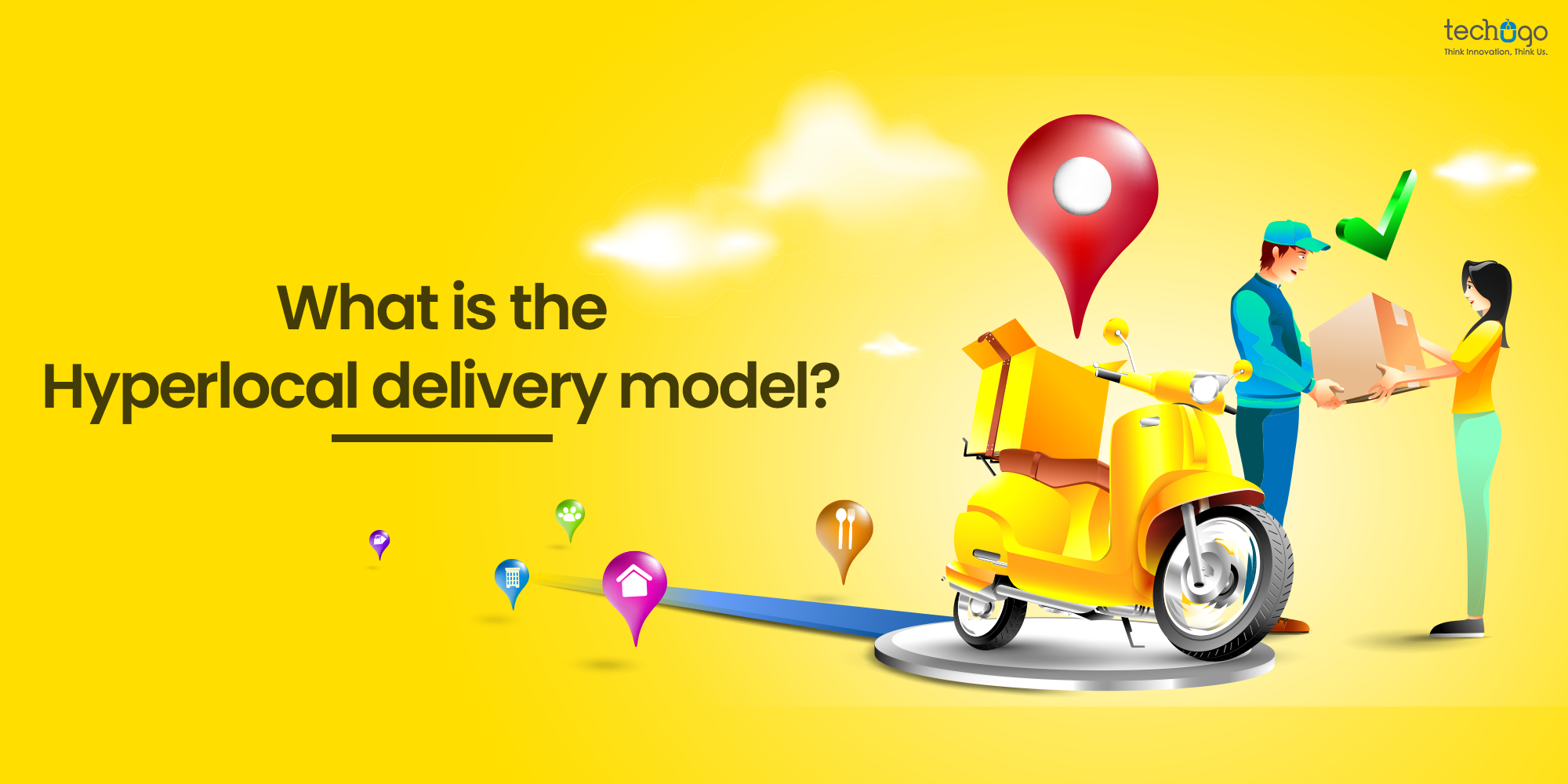 Hyperlocal delivery model