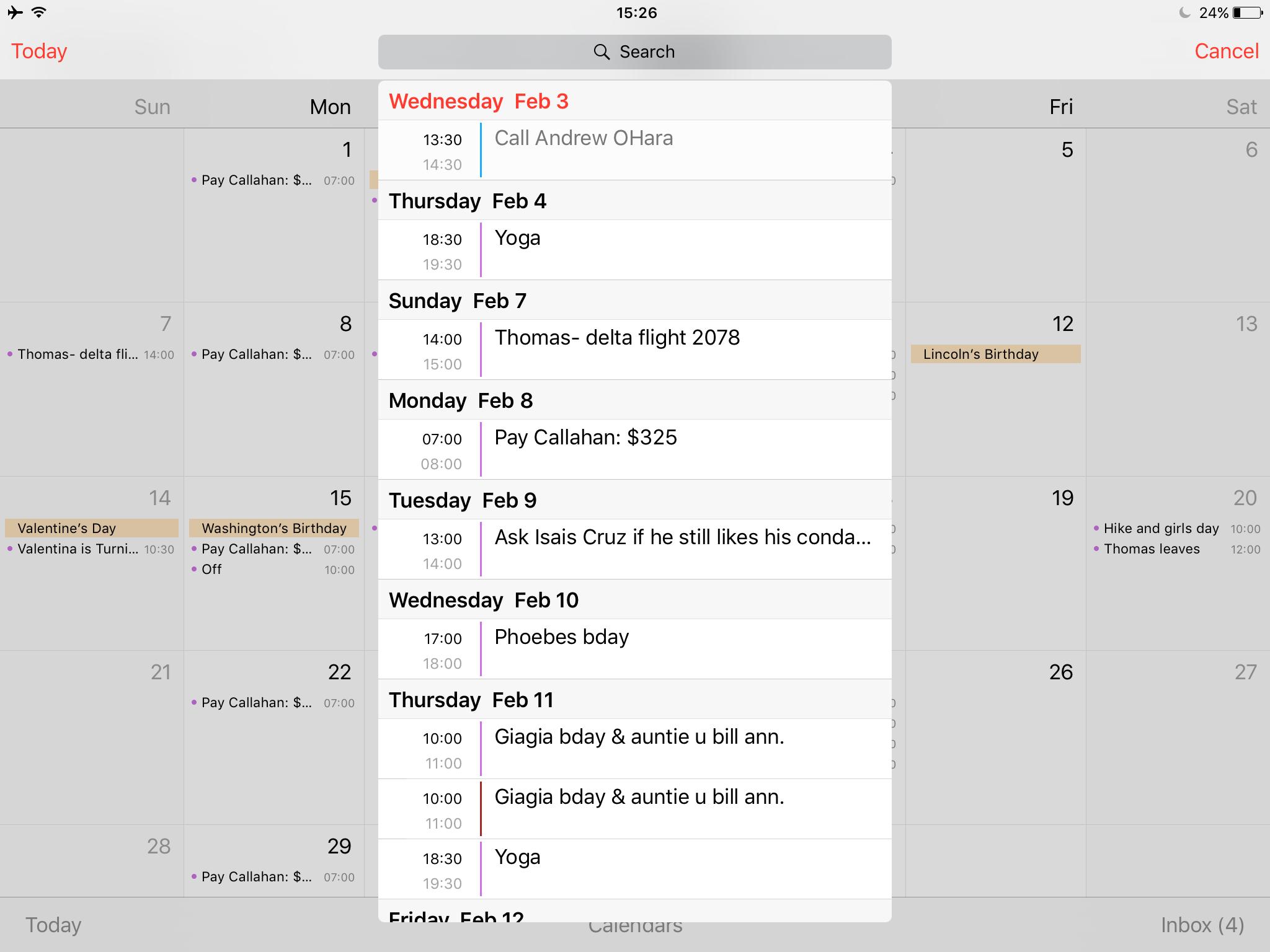 Gift List Diary