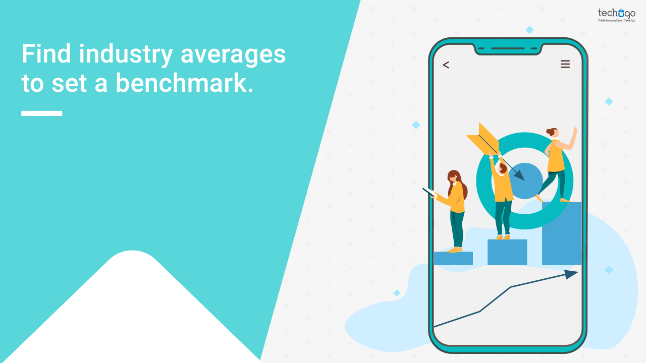Find industry averages to set a benchmark.
