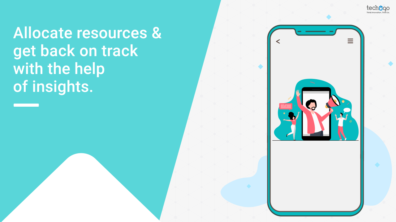 Allocate resources & get back on track with the help of insights.