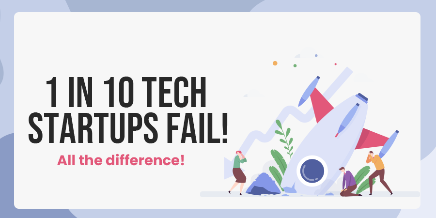 1 in 10 Tech Startup Fail